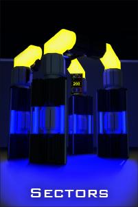 led laser tag arena sector