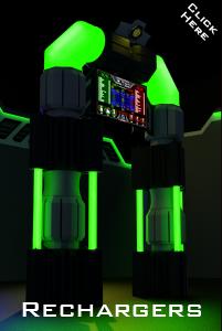 led laser tag arena recharger