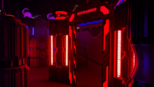 out of home laser tag equipment manufacturer
